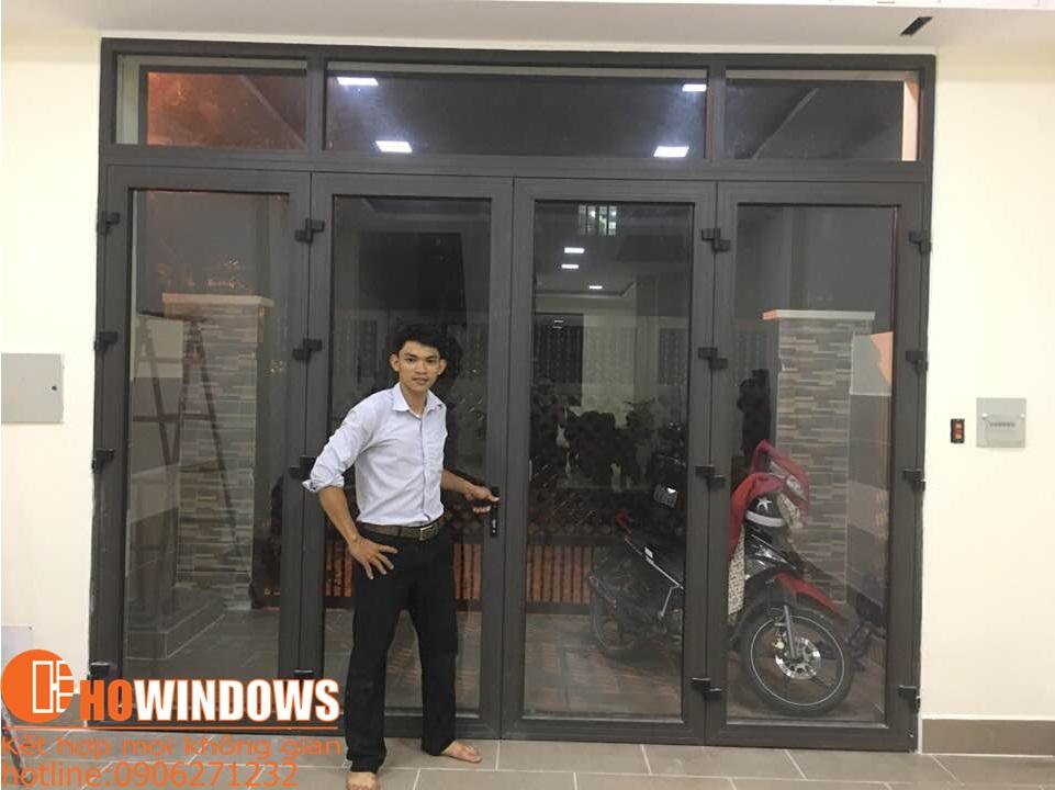 cửa nhôm kính hiện đại howindows