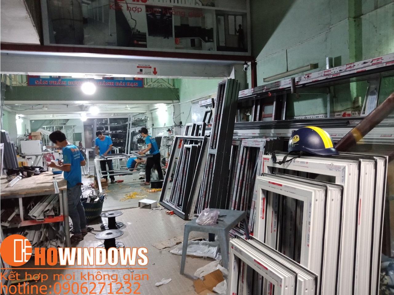 xưởng sản xuất cửa nhôm xingfa cao cấp